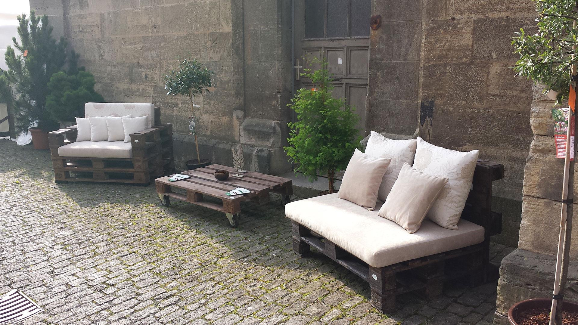 Loungemöbel Aus Paletten rhönmöbel loungemöbel aus paletten
