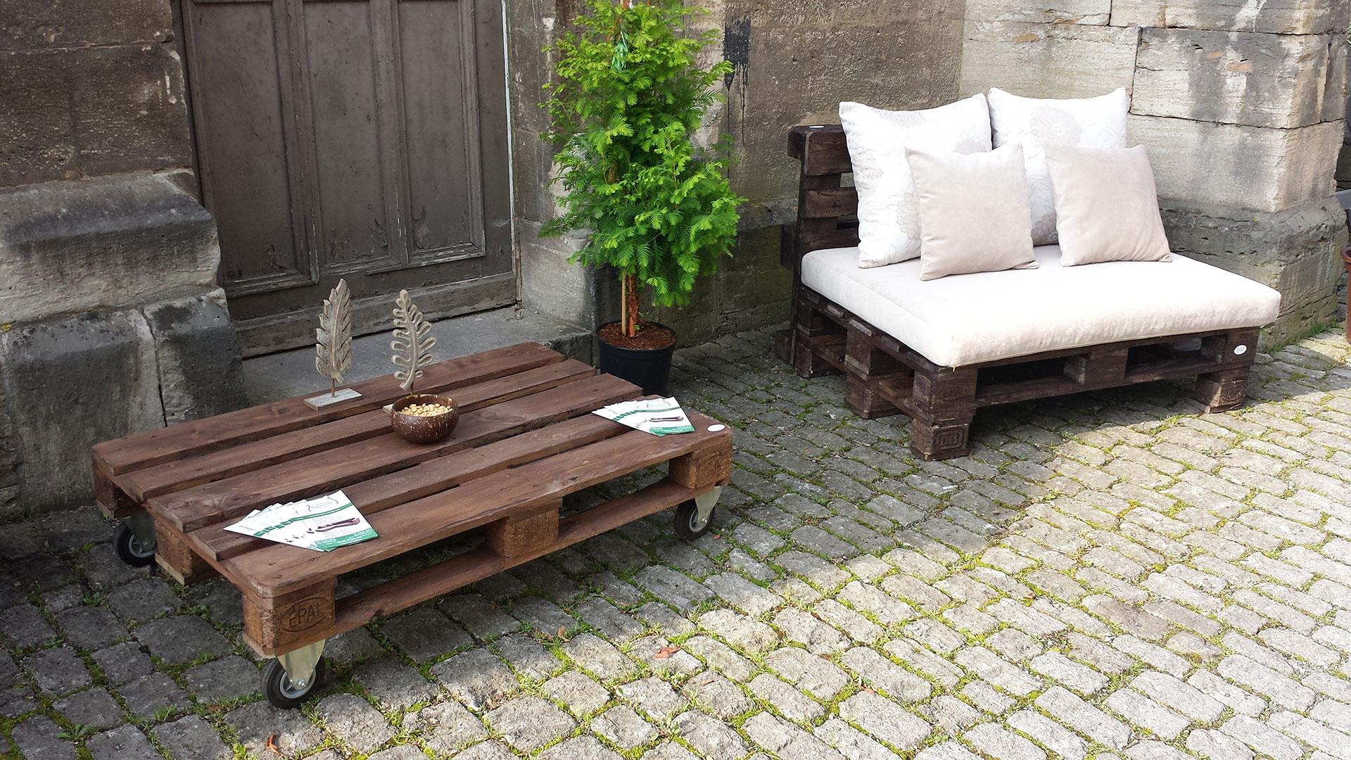 rhönmöbel • loungemöbel aus paletten